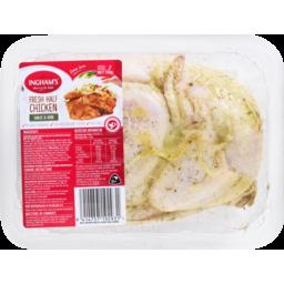 Photo of Ingham's Fresh Half Chicken Garlic & Herb 750g