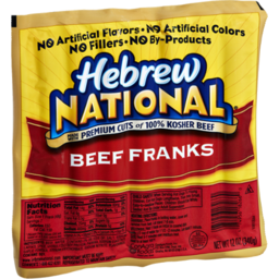 Photo of Hebrew National Hot Dog Beef