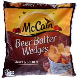 Photo of Mccain Potato Beer Batter Wedges 750g