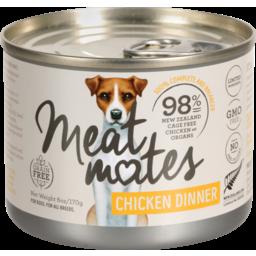 Photo of Meat Mates Dog Chicken Dinner 170g