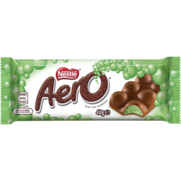 Photo of Nestle Aero Chocolate Bar Peppermint 40g 40g