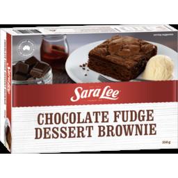 Photo of Sara Lee Brownie Chocolate Fudge 350g 350g