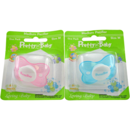 Photo of Pretty Baby Butterfly Pacifier 3-6mth Silicone
