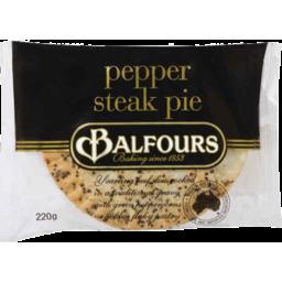 Photo of Balfours Premium Pie Pepper Steak 200gm