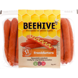 Photo of Beehive Sausages Pre-Cooked Frankfurter 1kg