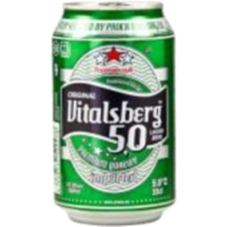 Photo of Vitalsberg Premium Lager Can