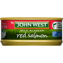Photo of John West Salmon Red 105g