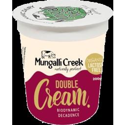 Photo of Mungalli Creek - Double Cream Lf - 200g