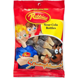 Photo of Robbies Sour Cola Bottles 130gm