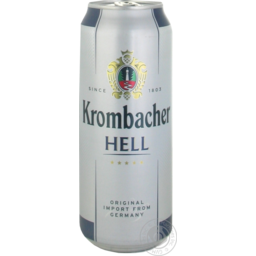 Photo of Krombacher Hell Can 500ml