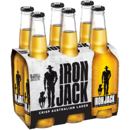 Photo of Iron Jack Crisp Australian Lager Bottles