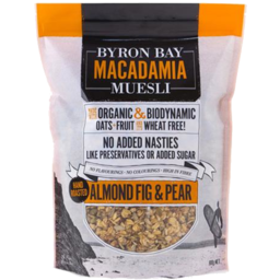 Photo of Byron Bay Muesli Almond Fig & Pear 450g
