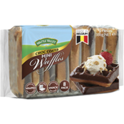 Photo of W/Vall Waffles Mini Choc 336g