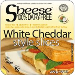 Photo of Bif Sheese Dairy Free White Cheddar Style Slices 200gm