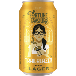 Photo of Fortune Favours Beer Trailblazer 330ml