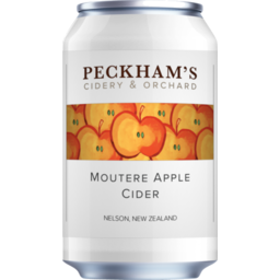 Photo of Peckham Cider Moutere Apple Can 330ml