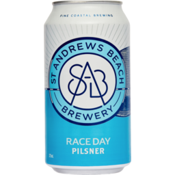 Photo of St Andrews Beach Brewery Race Day Pilsner 375ml 6 Pack