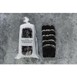 Photo of nonie's Charcoal And Black Quinoa Bread (Gluten Free)