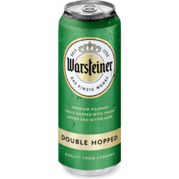 Photo of Warsteiner Double Hopped 500ml