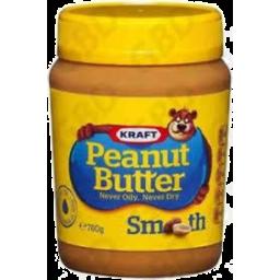 Photo of Kraft Peanut Butter Smooth 780gm