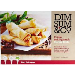 Photo of Dim Sum & Co Crispy Peking Duck Spring Rolls 300gm