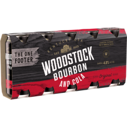 Photo of Woodstock Bourbon & Cola 4.8% 5x440ml