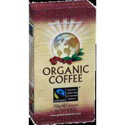 Photo of Global Fair Trade Organic Coffee 250gm