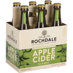 Photo of Rochdale Classic Cider 4.5% 330ml Bottles 6 pack