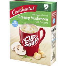 Photo of Continental Croutons Creamy Mushroom Soup 2 Pack