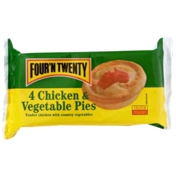 Photo of Four N Twenty Frozen Pie Chicken & Vegetable 4pk