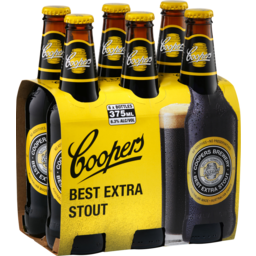 Photo of Coopers Stout 6 x 375ml Bottles