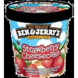 Photo of Ben & Jerrys Strawberry Cheesecake 120ml