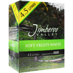 Photo of Jimberoo Valley Soft Fruity White Cask 4.5l