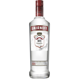 Photo of Smirnoff Red 37% 1L