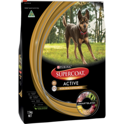 Photo of Purina Supercoat Active Dog Dry Dog Food 7.5kg