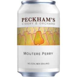 Photo of Peckham Cider Moutere Perry Can 330ml