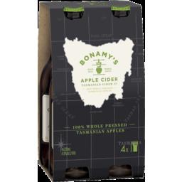 Photo of Bonamy's Apple Cider Bottle 330ml 4 Pack