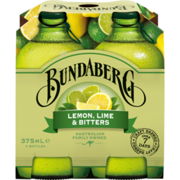 Photo of Bundaberg Lemon, Lime & Bitters 4x375ml Bottles