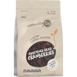 Photo of Community Co. Cranberries Dried 200g