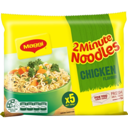 Photo of Maggi 2 Minute Noodles Chicken Flavour 5x72gm