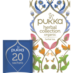 Photo of Pukka Herbal Collection 34g (20 Sachets)
