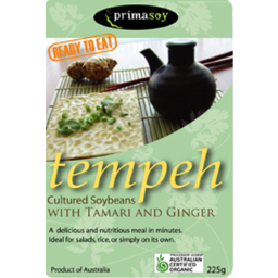 Photo of Primasoy - Tempeh - Tamari & Ginger - 260g