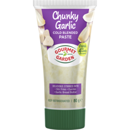 Photo of Gourmet Garden Chunky Garlic Paste 80gm