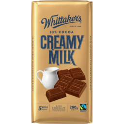 Photo of Whittaker's Creamy Milk Block 200gm
