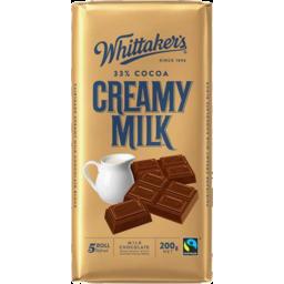Photo of Whittaker's Creamy Milk Block 200gm
