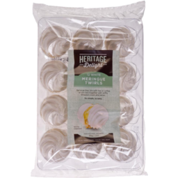 Photo of Heritage Delight Meringue Twirls White 12 Pack