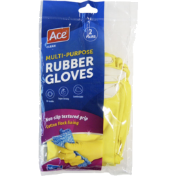 Photo of Ace Gloves Large Twin Pack