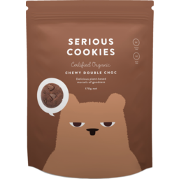 Photo of Serious Cookies Chewy Double Choc 170g