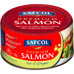 Photo of Safcol Premium Salmon Soy & Ginger 95gm