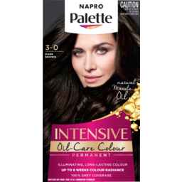 Photo of Napro Palette Permanent Hair Colour 3-0 Dark Brown